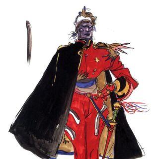 Amano artwork of Baigan.