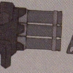 Concept art of the Rocket Launcher.
