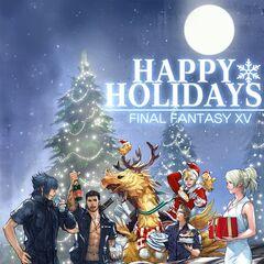 Character artwork for Christmas 2015.