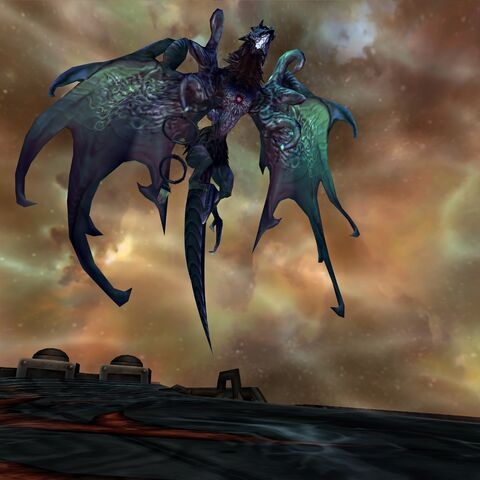 Valefor possessed by Yu Yevon.