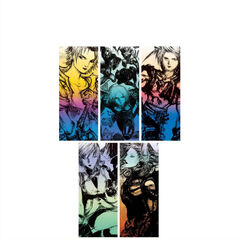 25th Memorial Ultimania Volume 3 cover.