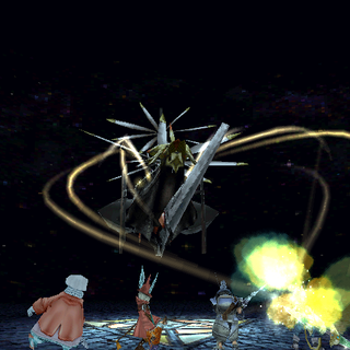 Ark in battle.