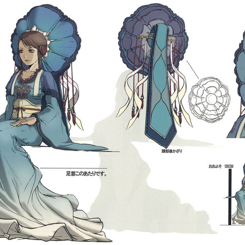 Concept art of Andoria.