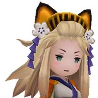 Edea as a Yōkai.