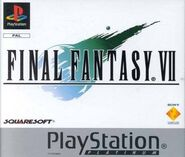 FFVII PAL Platinum Cover