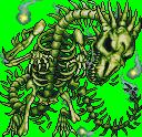 FF4PSP Bone Dragon Green