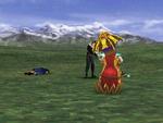 FFVIII Squall Pre-Battle Pose