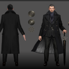 Concept artwork of young Regis.