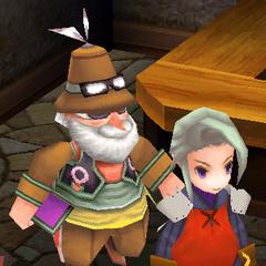 Cid follows the player (PC).