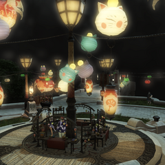 Decoration in Limsa Lominsa (2014).