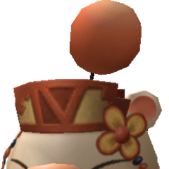 Model of the moogle of Class Fourth.