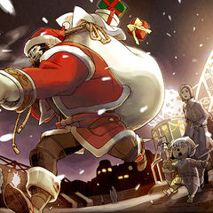 2009 Starlight Celebration artwork for <i>Final Fantasy XI</i>.