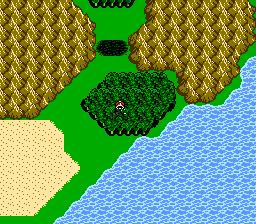 FFIII NES Chocobo Woods 4