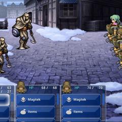 A battle (iOS).