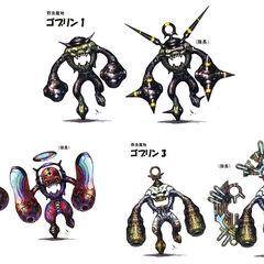 Goblin, Goblin Chieftain, Munchkin, Munchkin Maestro, Borgbear, and Borgbear Hero.
