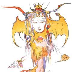 Queen of Eblan.
