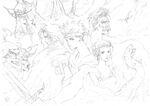 Nomura FFV Cast Artwork