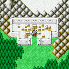 Salamand on the World Map (GBA).