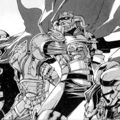 The Archadian Judges in the <i>Final Fantasy XII</i> Manga adaptation.