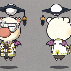 Artwork of the moogle of Class Eleventh.