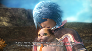 FFXIII-2 Yuj & Snow Cat