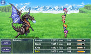 Bahamut Battle FFV