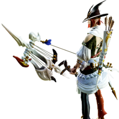 Bard render for <i>Final Fantasy XIV: A Realm Reborn</i>.