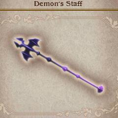 Demon's Staff in <i><a href=