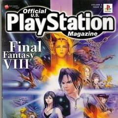 Official PlayStation Magazine cover.