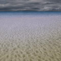 Ruined beach.
