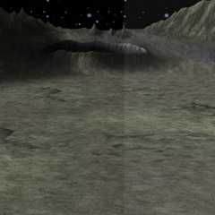 Battle background on the moon's surface (iOS).