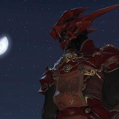 Nero with helmet.