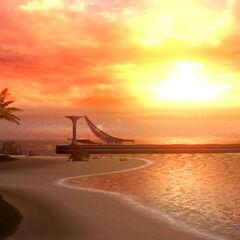 Bodhum's beach.