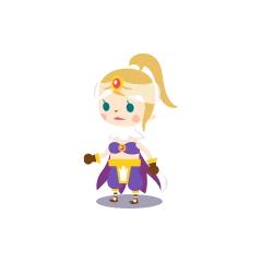 A female Mystic Knight in <i><a href=