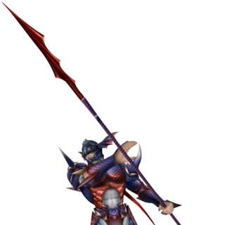 <i>Noir Dragoon</i> - Kain's alternate appearance as Dark Kain.