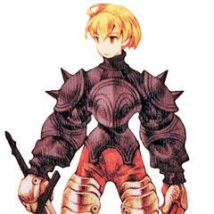 Ramza as a Squire in Chapter 2 and 3.