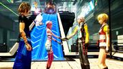 FFXIII-2 Noerah meet Hope-Alyssa