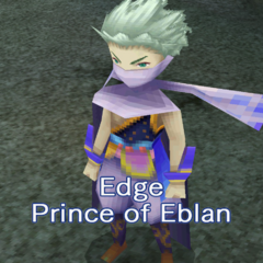 Edge's introduction screen (PC).