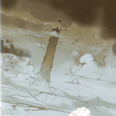 The Tower of Babil in the Underworld, from the <i>Final Fantasy IV</i> official novelization.