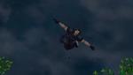 Zack flies