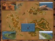 Chocobo Air Garden-location map