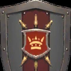 Royal Knight Army Shield.