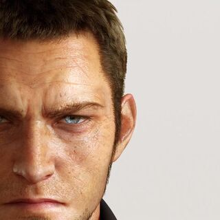 A picture of Cor's face from the E3 2013 trailer for <i>Final Fantasy XV</i>.