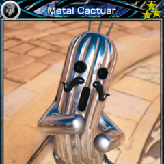 Rank 3 Metal Cactuar.