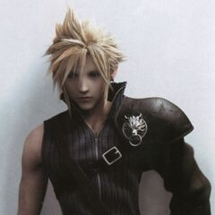 Another image of Cloud's <i>Final Fantasy VII: Advent Children</i> outfit for the <i>Final Fantasy VII Anniversary</i>.