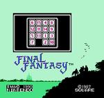 FFI NES 15 Puzzle