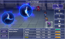 FFV iOS Level 4 Graviga