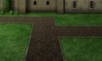 FFIV PSP Town Night Battle Background