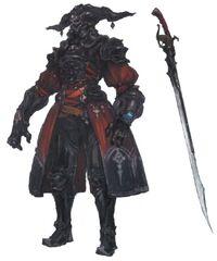 Gaius van Baelsar FFXIV Art 3