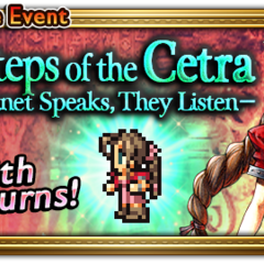 Global event banner for Footsteps of the Cetra.